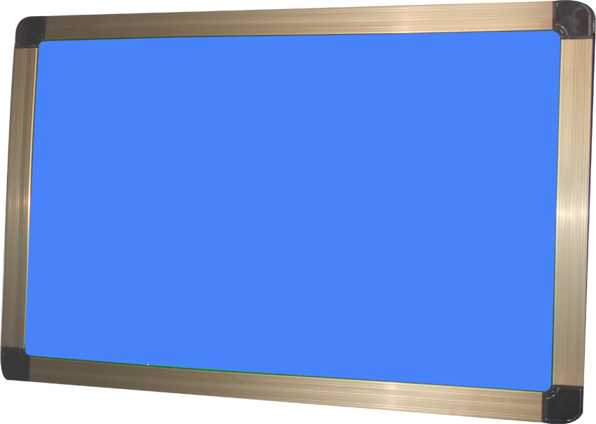HD notice board sky blue - SR DISPLAY BOARDS